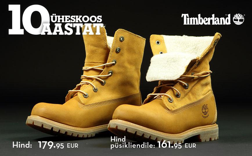 4952b84e656 Timberland 10 aastat Eestis | Sportland Magazine