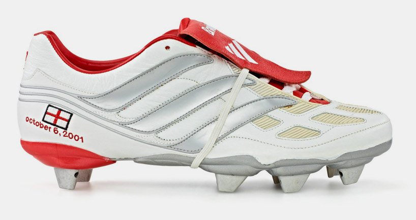 David Beckhami Adidas Predatorid