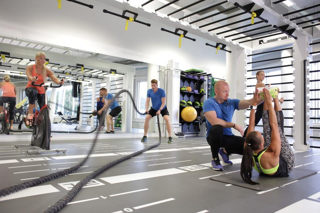 Spordinädalal saab proovida ka Fitness Rope45 treeningut