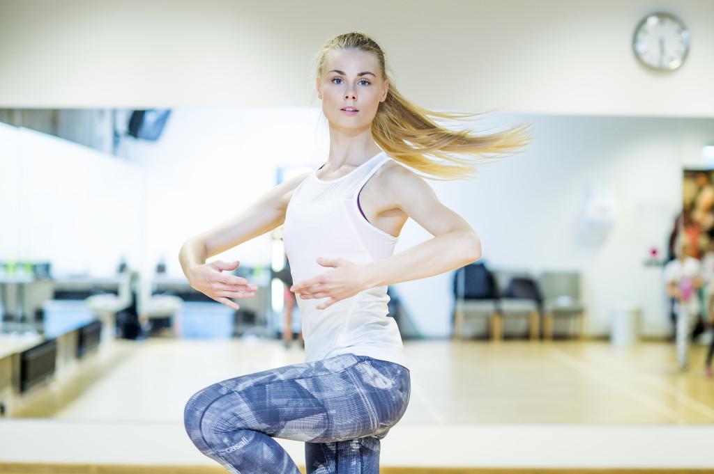 Britt tantsib ise ja tegutseb ka treenerina