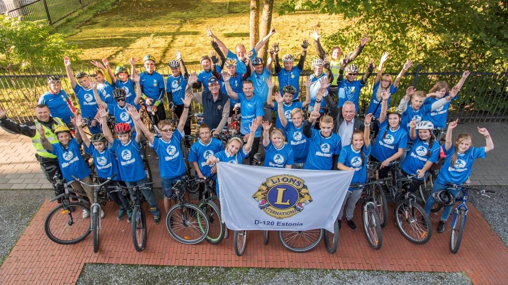 Kui spordinädala lõpetab tänavaspordifestival, siis avalöögiks on 09.-11. septembrini toimuv teine Eesti Lionite heategevuslik rattaretk.