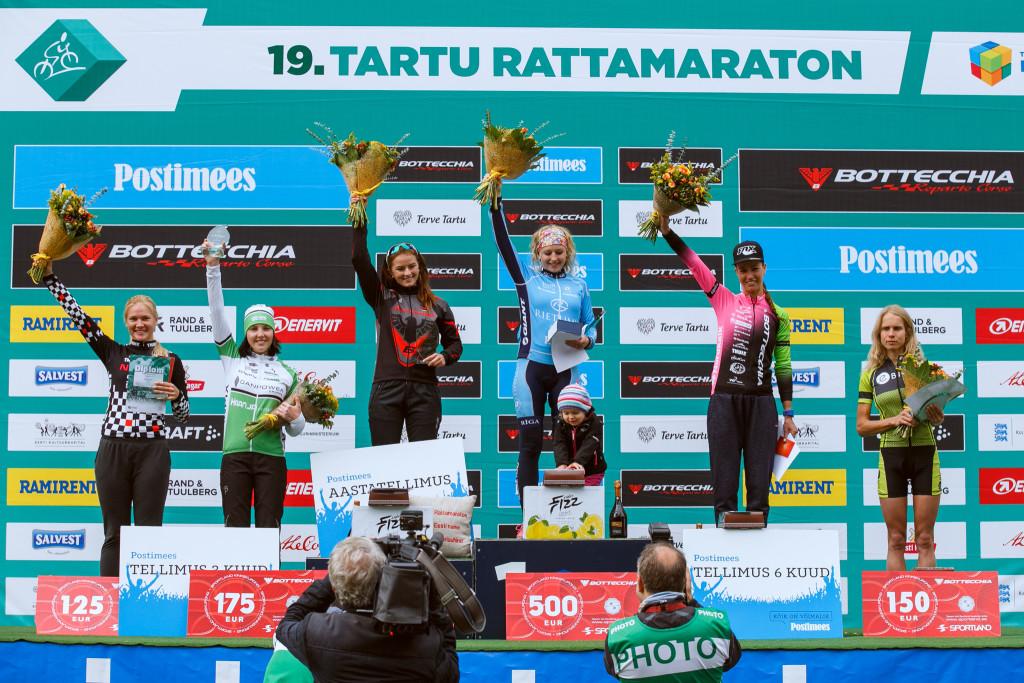 Janelle saavutas Tartu Rattamaratonil kõrge 2. koha
