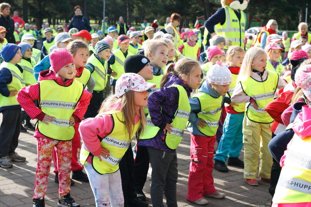 Spordinädalal korraldatakse lastele ja noortele palju erinevaid üritusi üle Eesti
