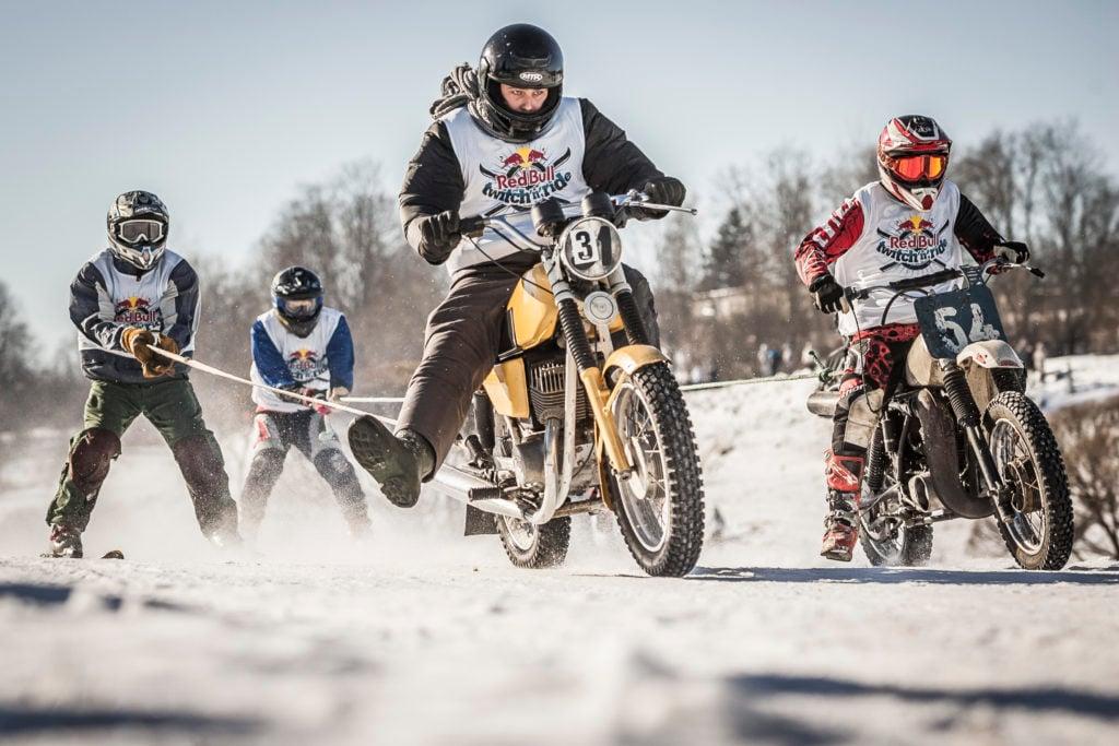 Skijöring. Foto Arturs Pavlovs Red Bull Content Pool