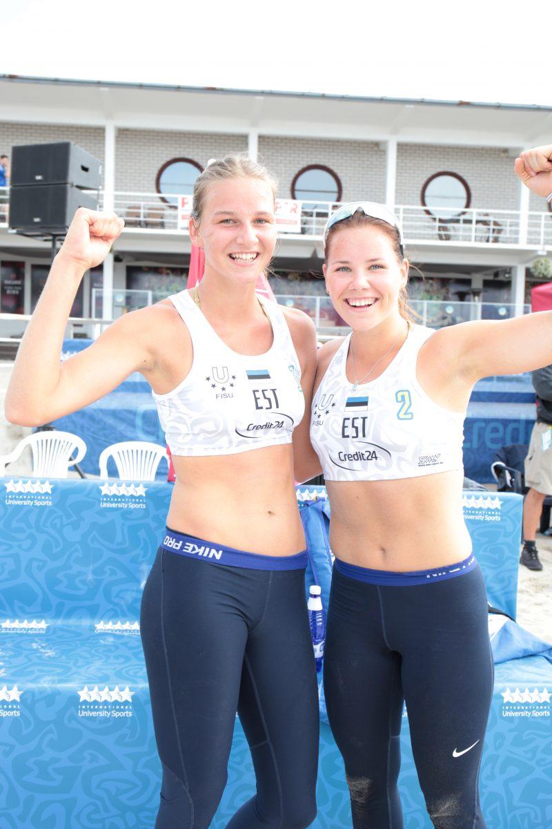 Heleene Hollas ja Liisa Soomets