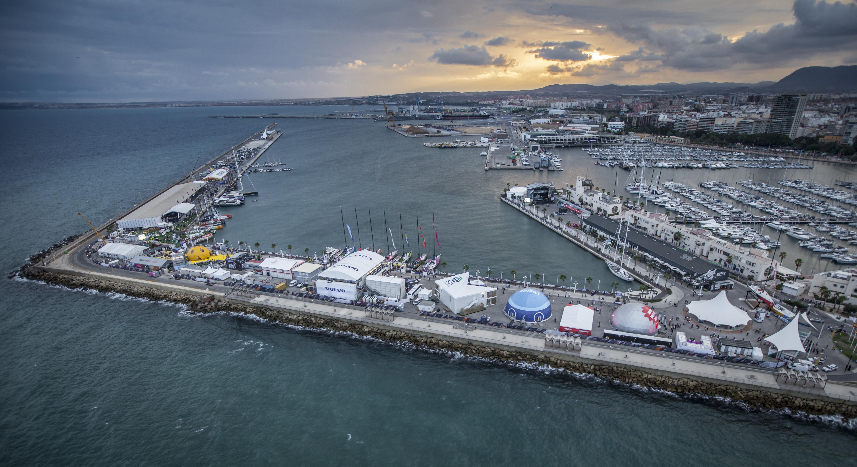Vaade Alicantele Foto: Ainhoa Sanchez/Volvo Ocean Race