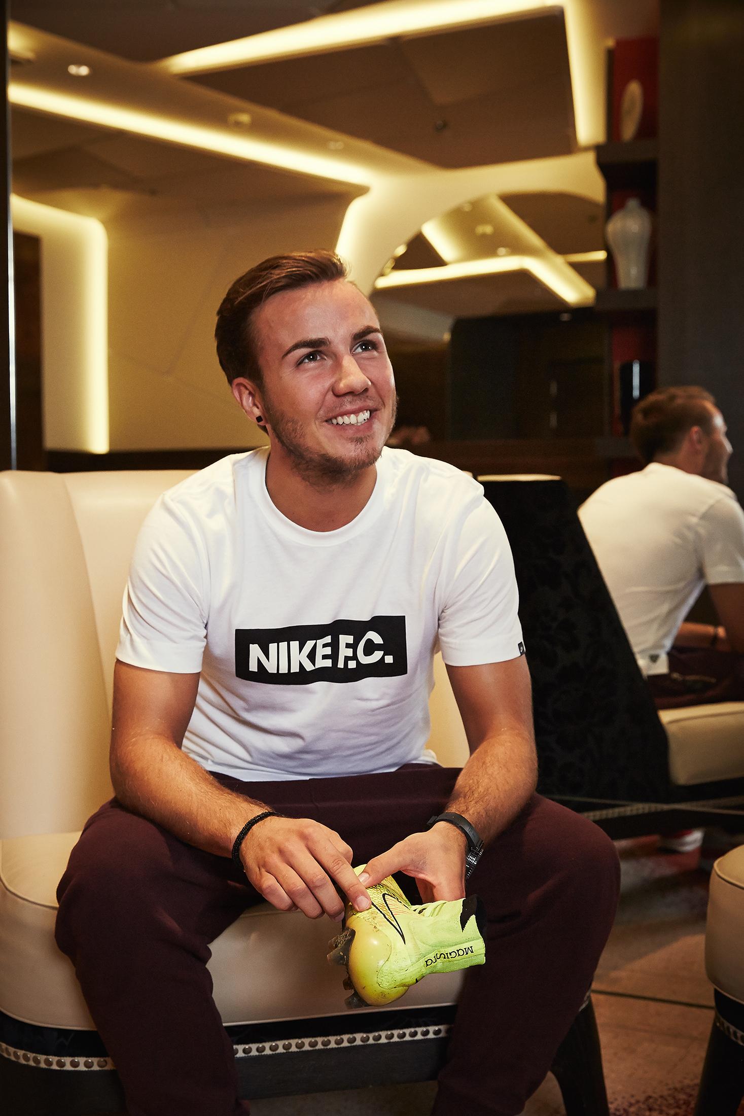 Mario Götze ja Nike Magista