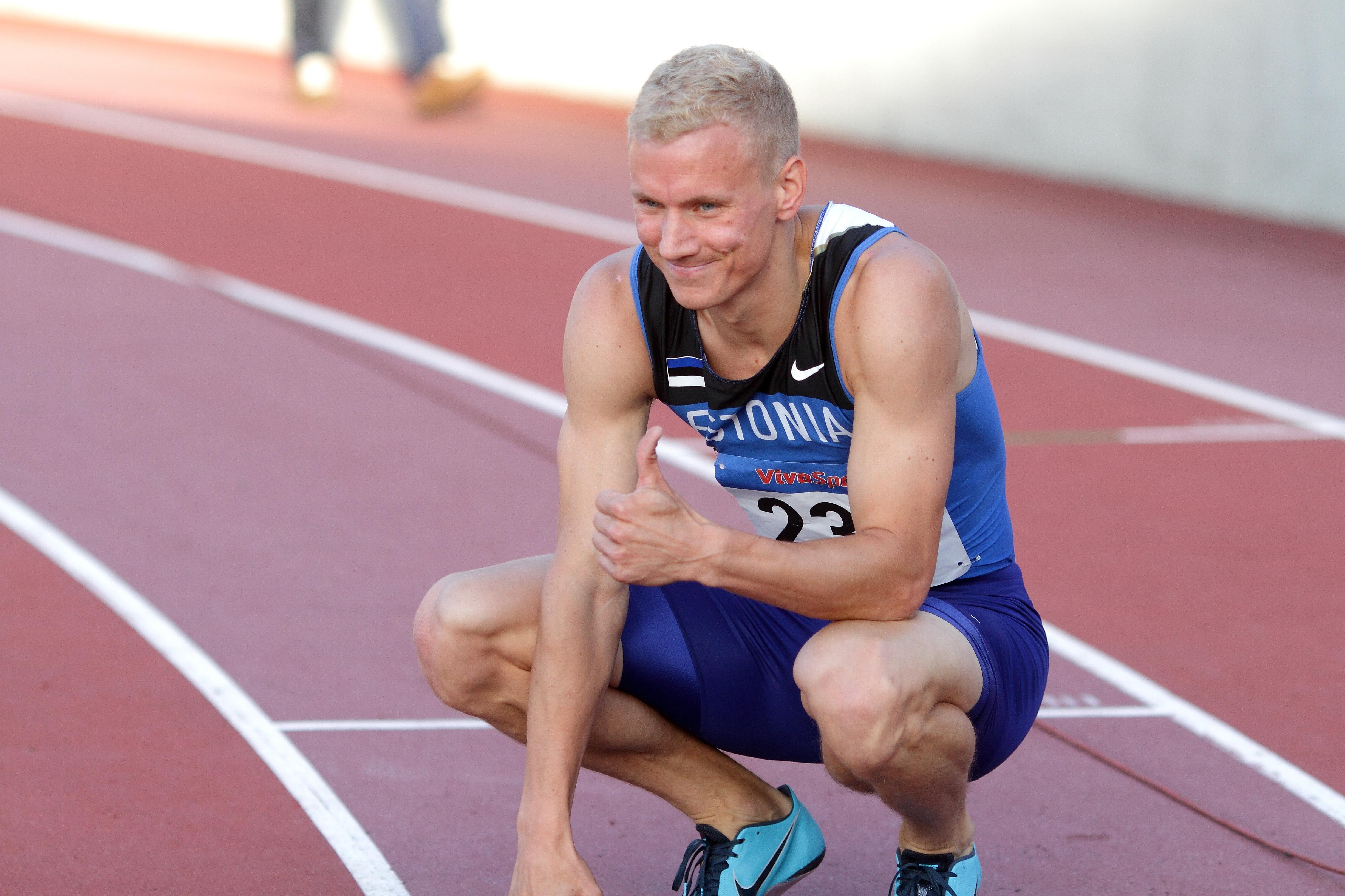 Eesti kiireim mees Marek Niit on pärit just Saaremaalt Foto Siim Semiskar