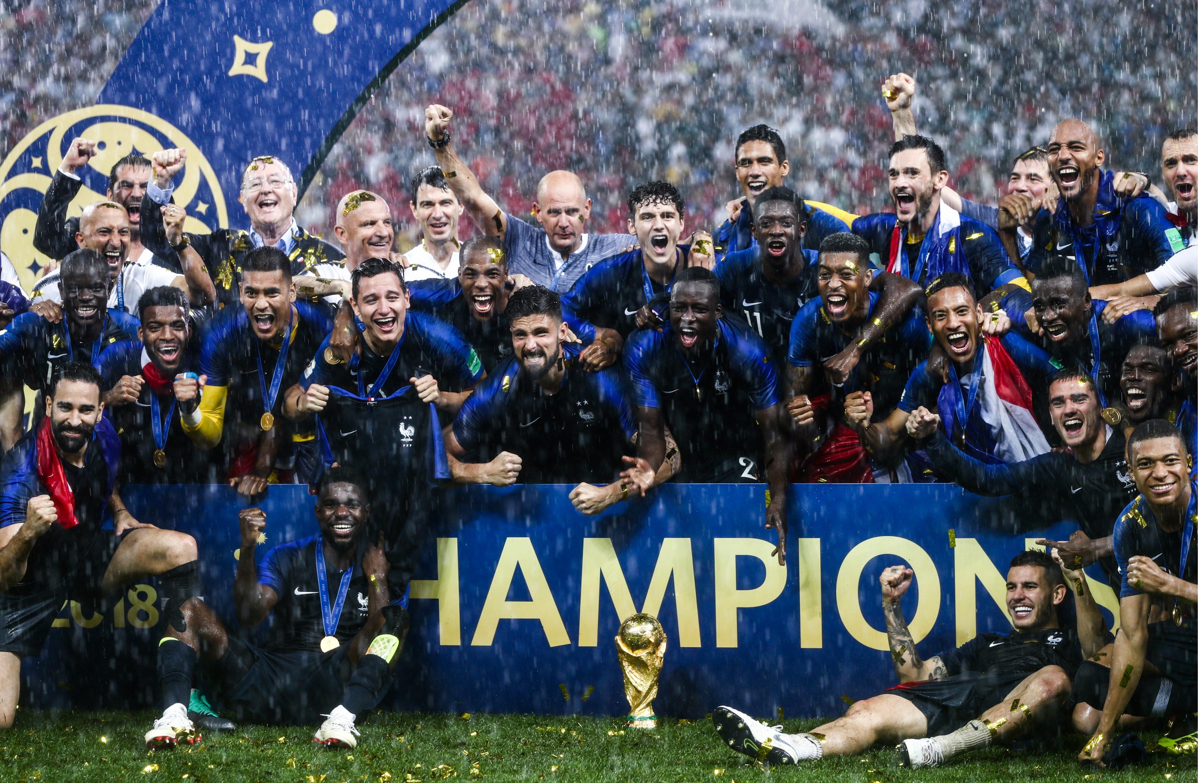 af004891e6d Jalgpalli MM-i maailmameistriks krooniti Prantsusmaa | Sportland Magazine