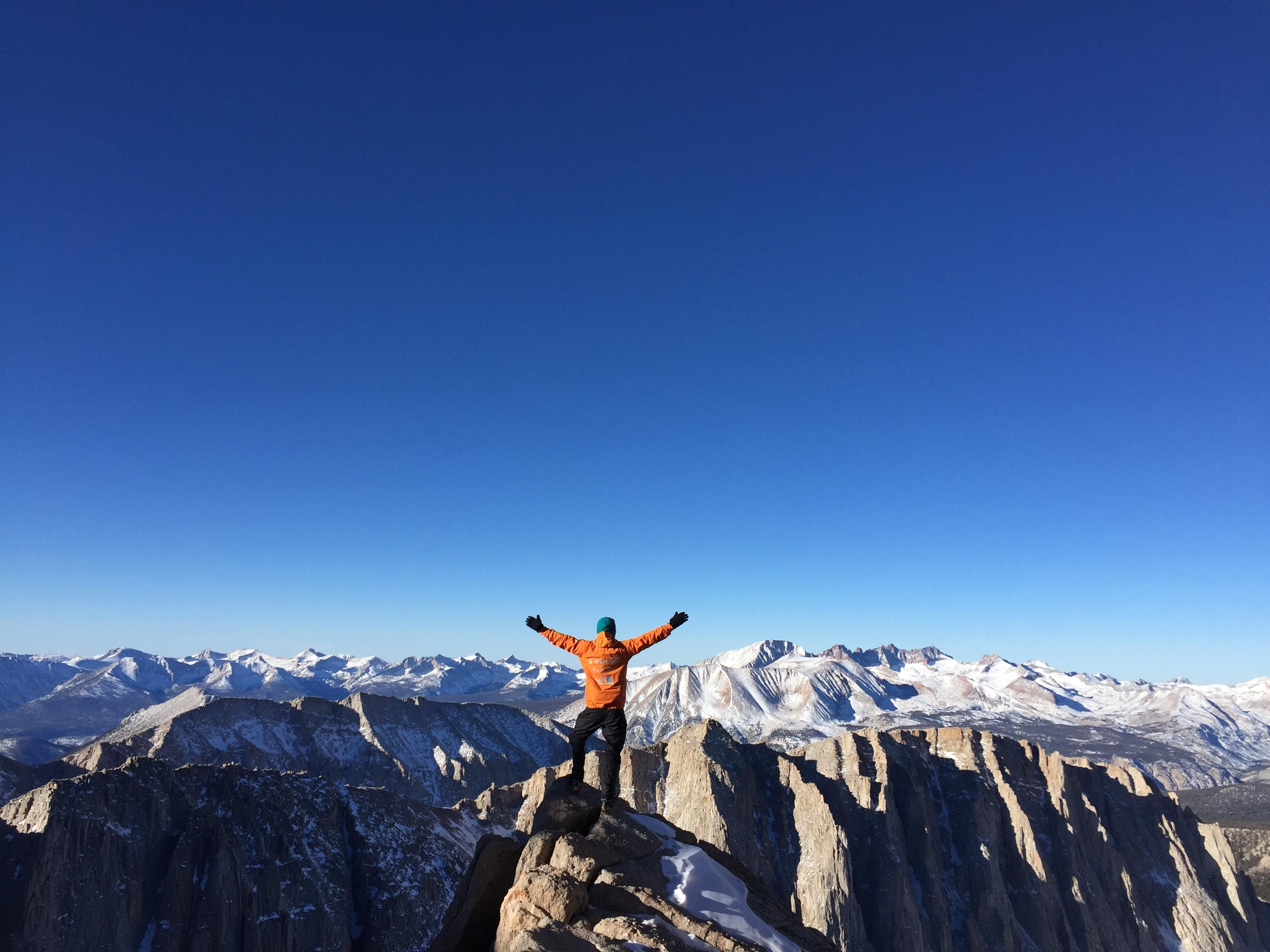 Miks alpinism? Sest vaated on kõrgemalt paremad