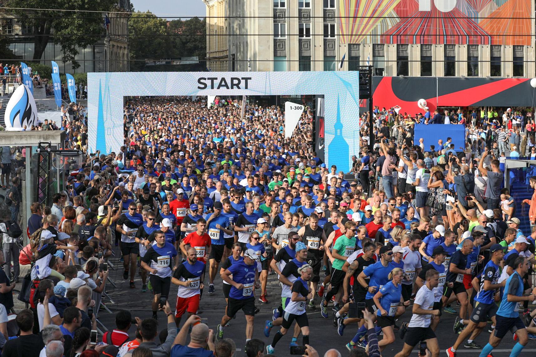 Tallinna Sügisjooksu start
