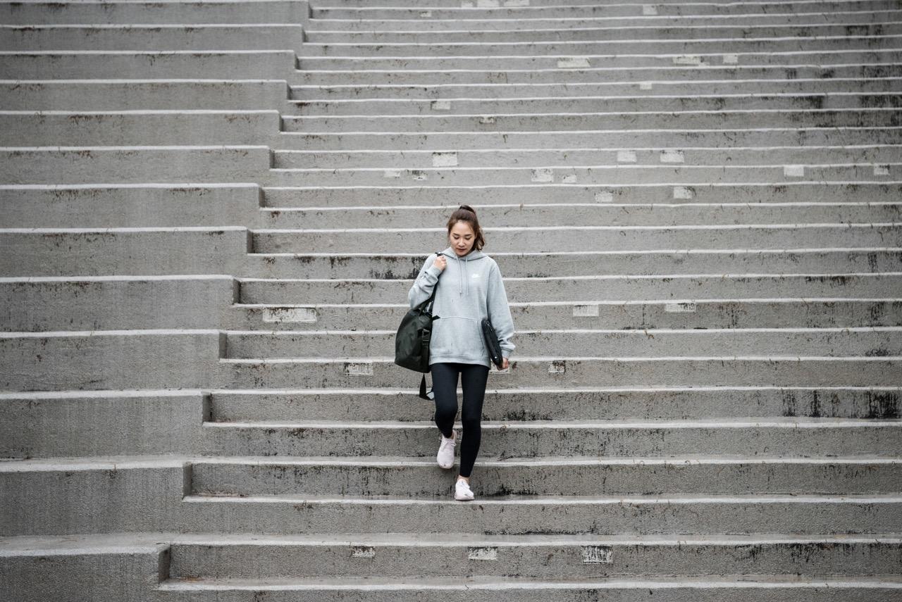 Täna lähen trepist
