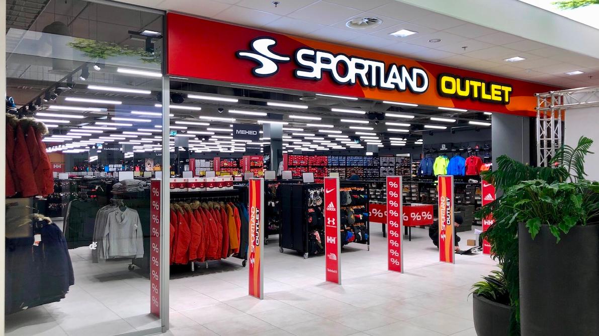 9b9b7a3896d Uus Sportland Outlet Tartus | Sportland Magazine