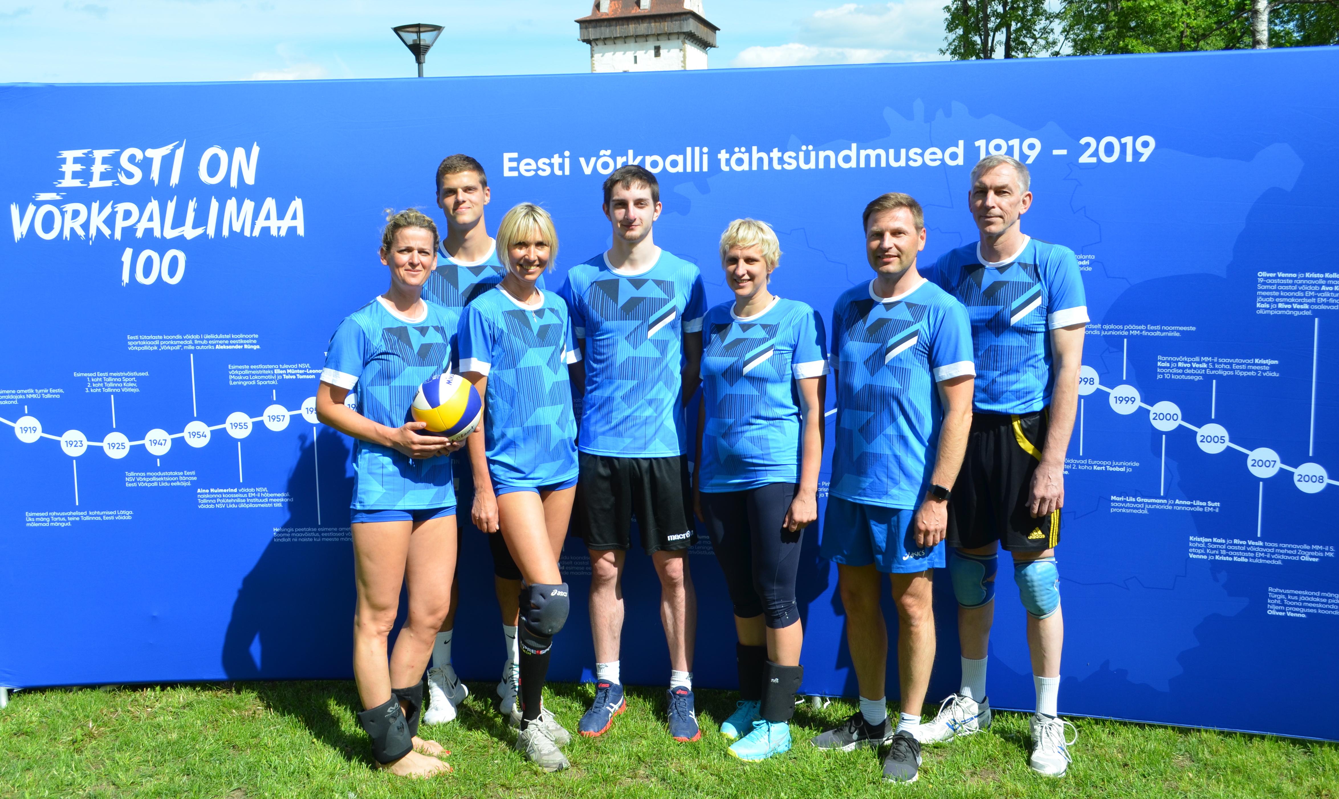 Eesti võrkpallipere