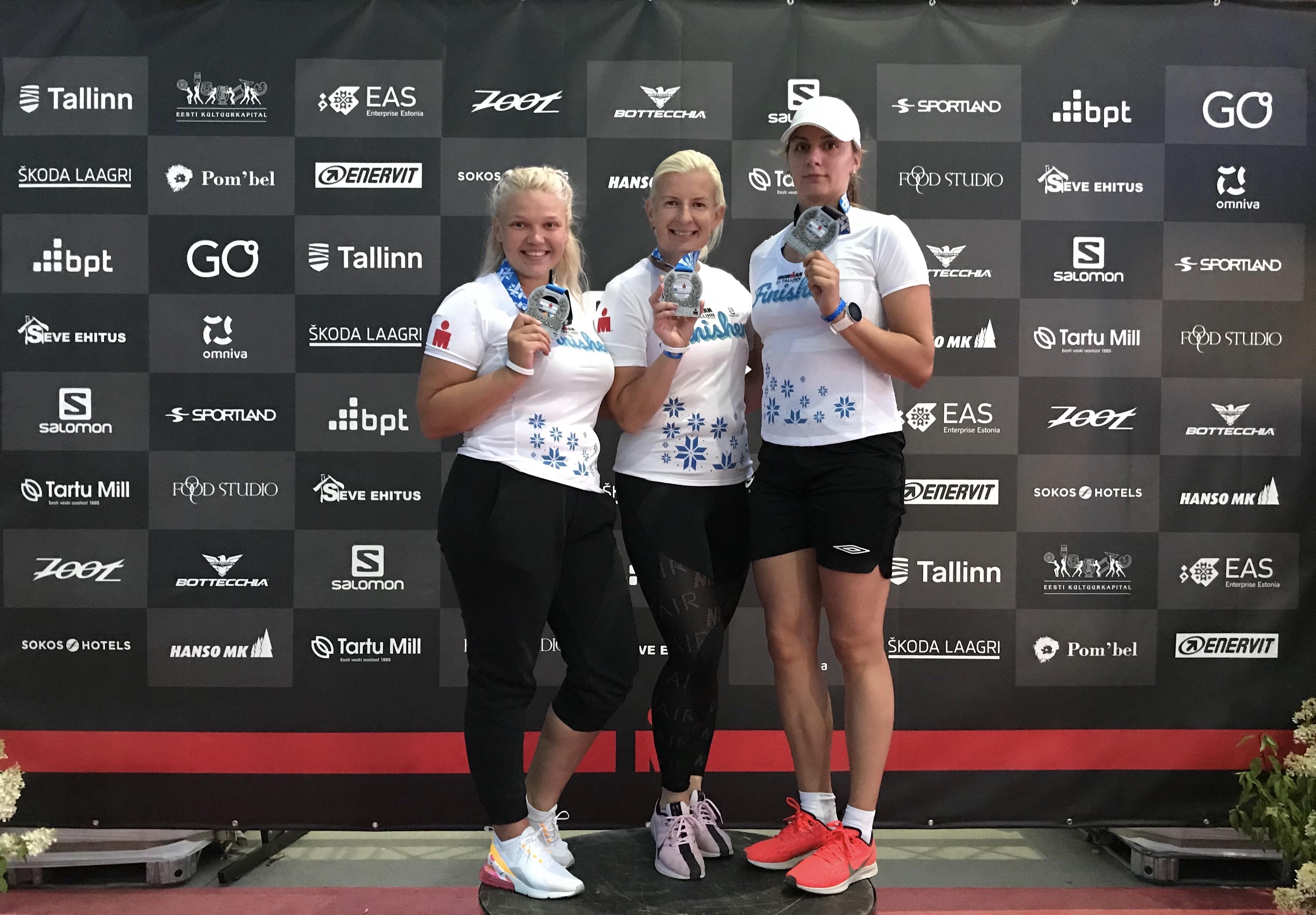 Ironman Tallinn Sportland Retail Power tiim