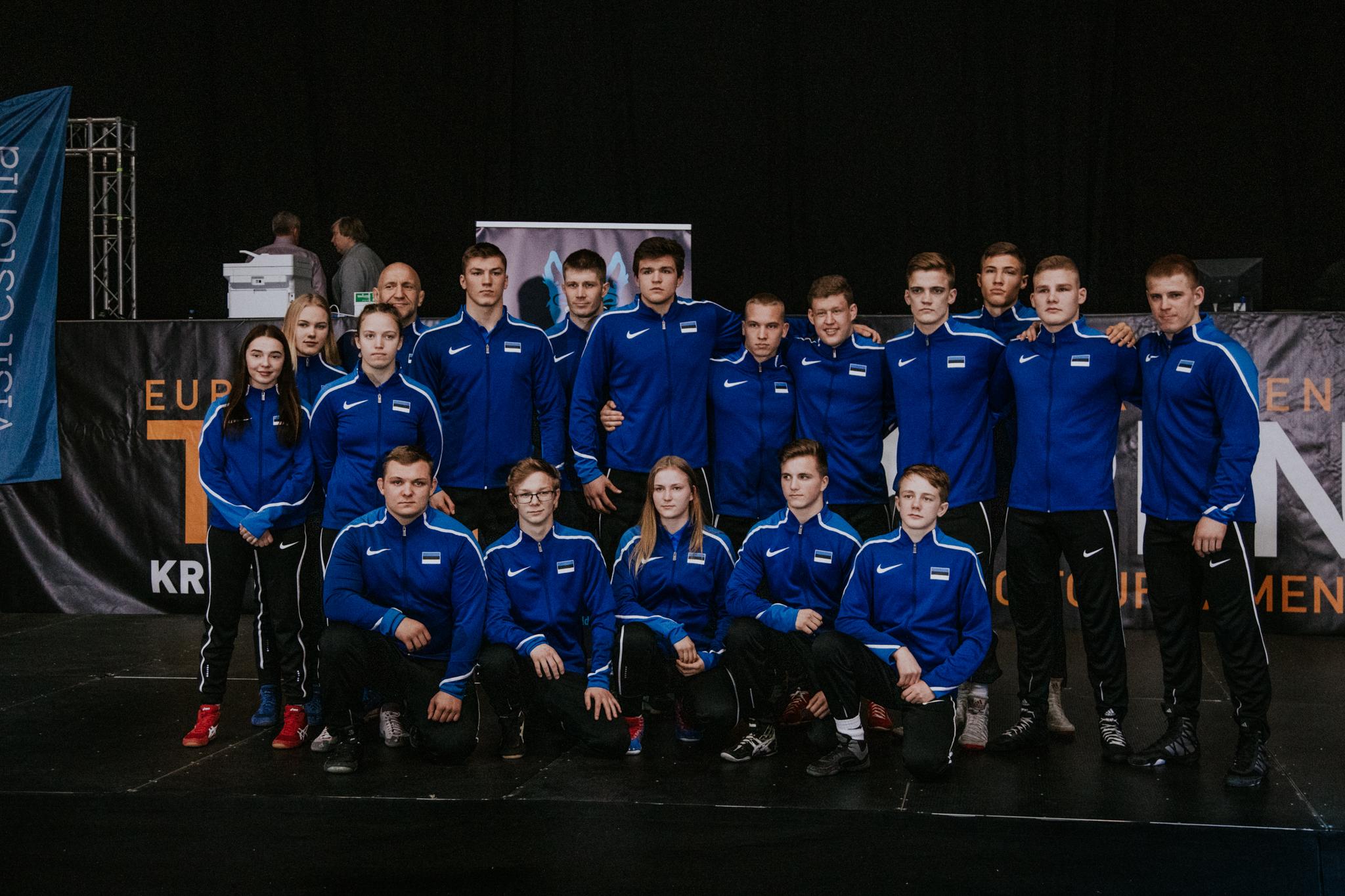 Maadluse MM - Eesti koondis