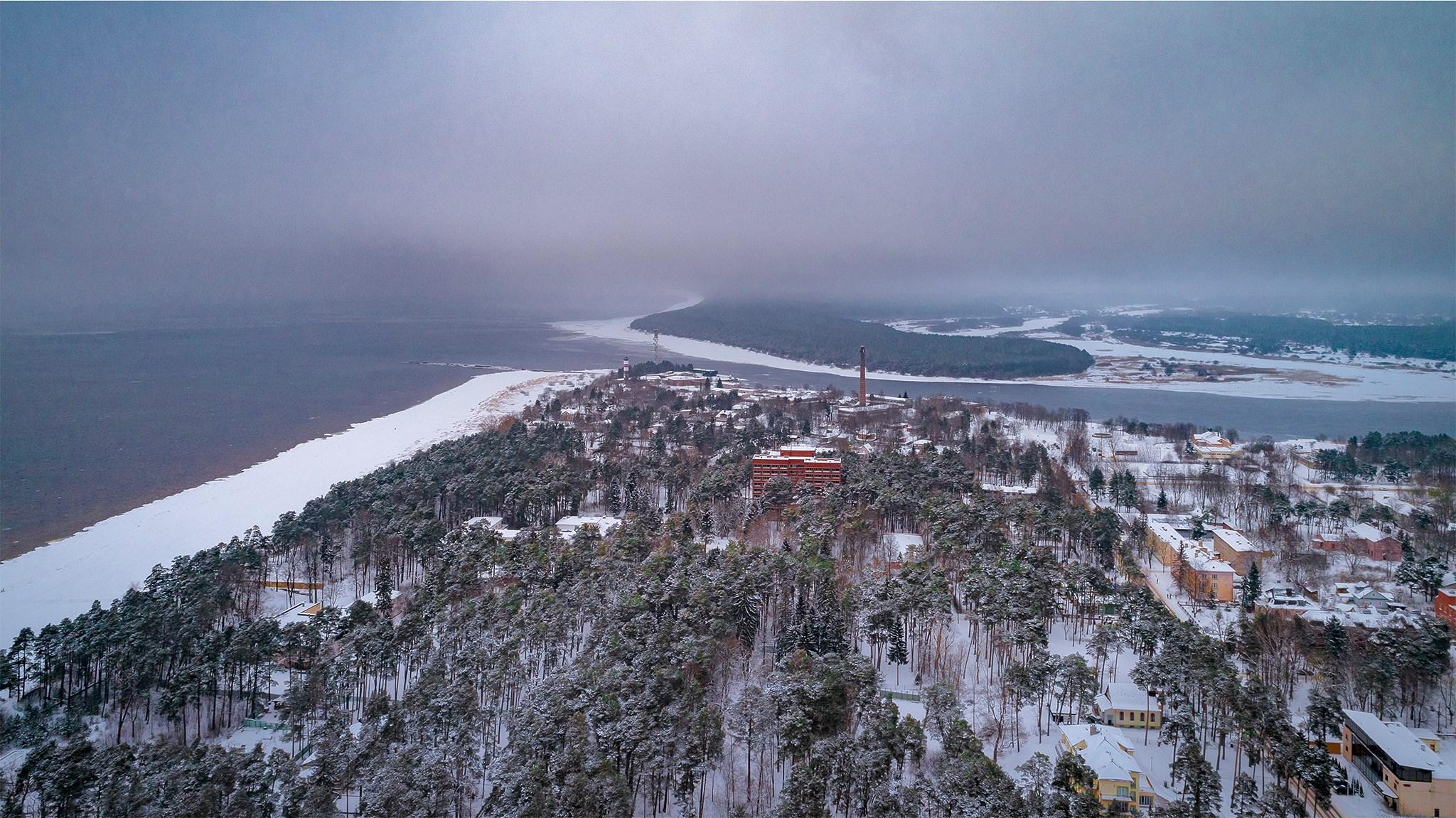 Kuurortlinn Narva-Jõesuu talverüüs