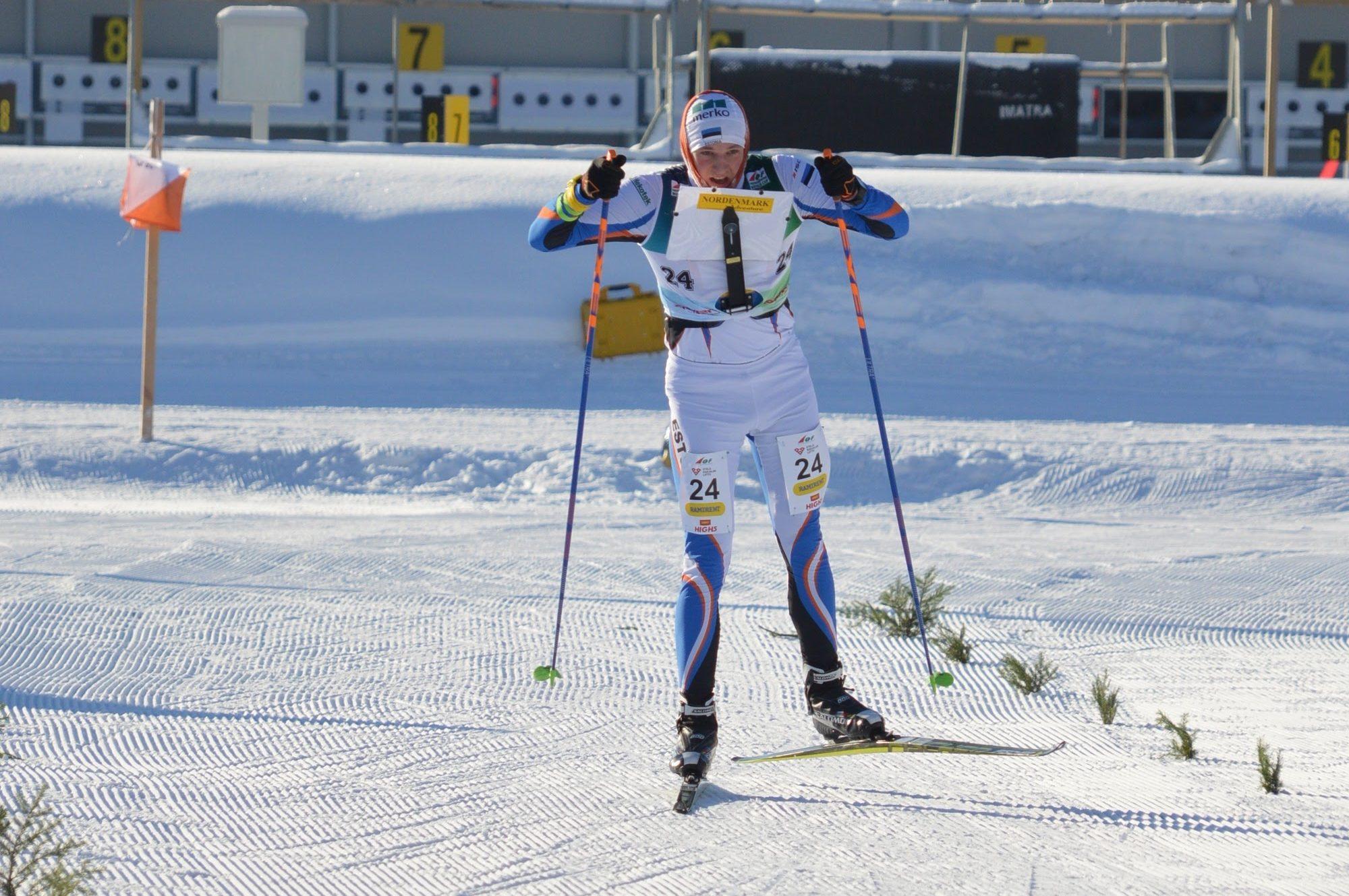 EM 2017 Soomes, sprindi finišisirge. Mattis saavutas 5. koha Foto: Raili Rooba