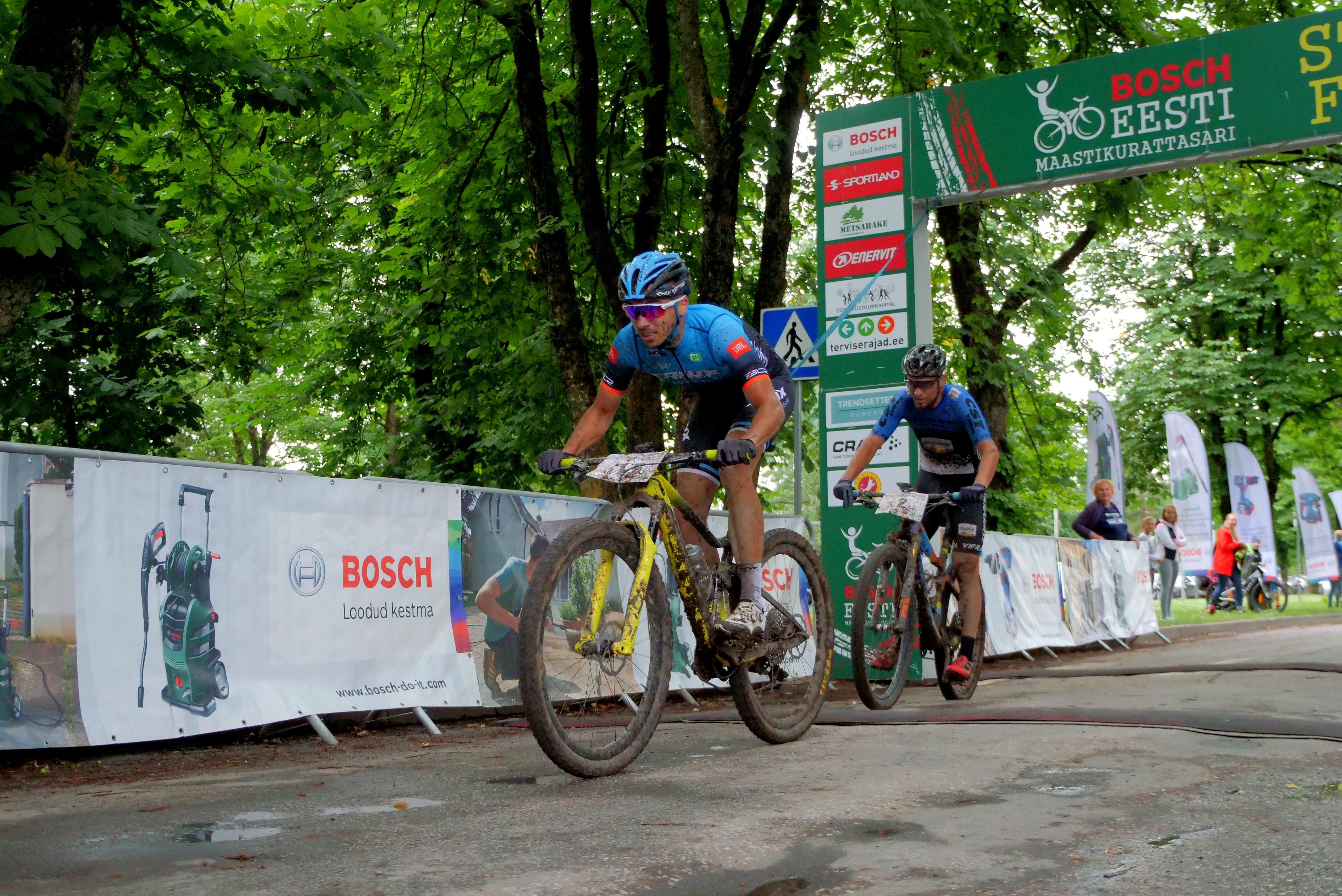 Rakvere Rattamaratoni võitja Martin Loo
