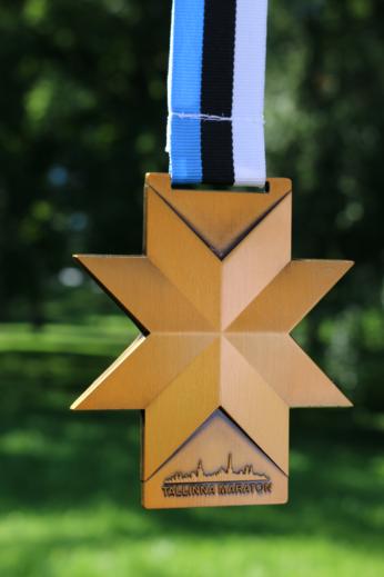 Tallinna Maratoni medal