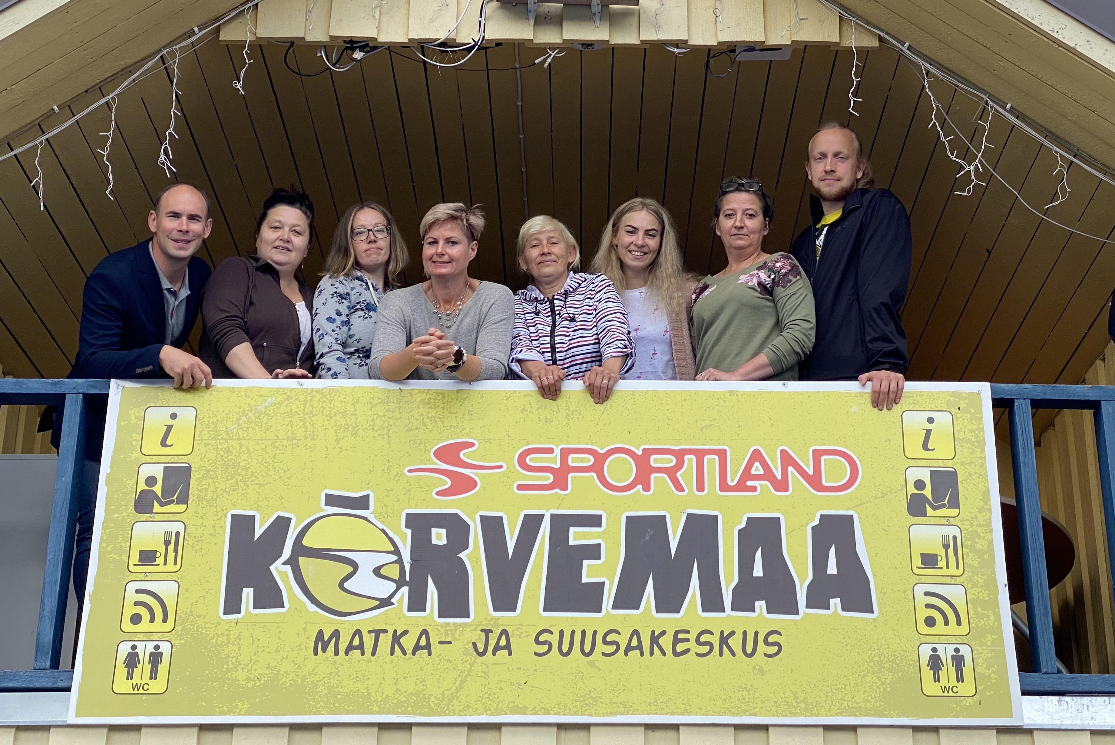 Margus Mäll ja Sportland Kõrvemaa tiim