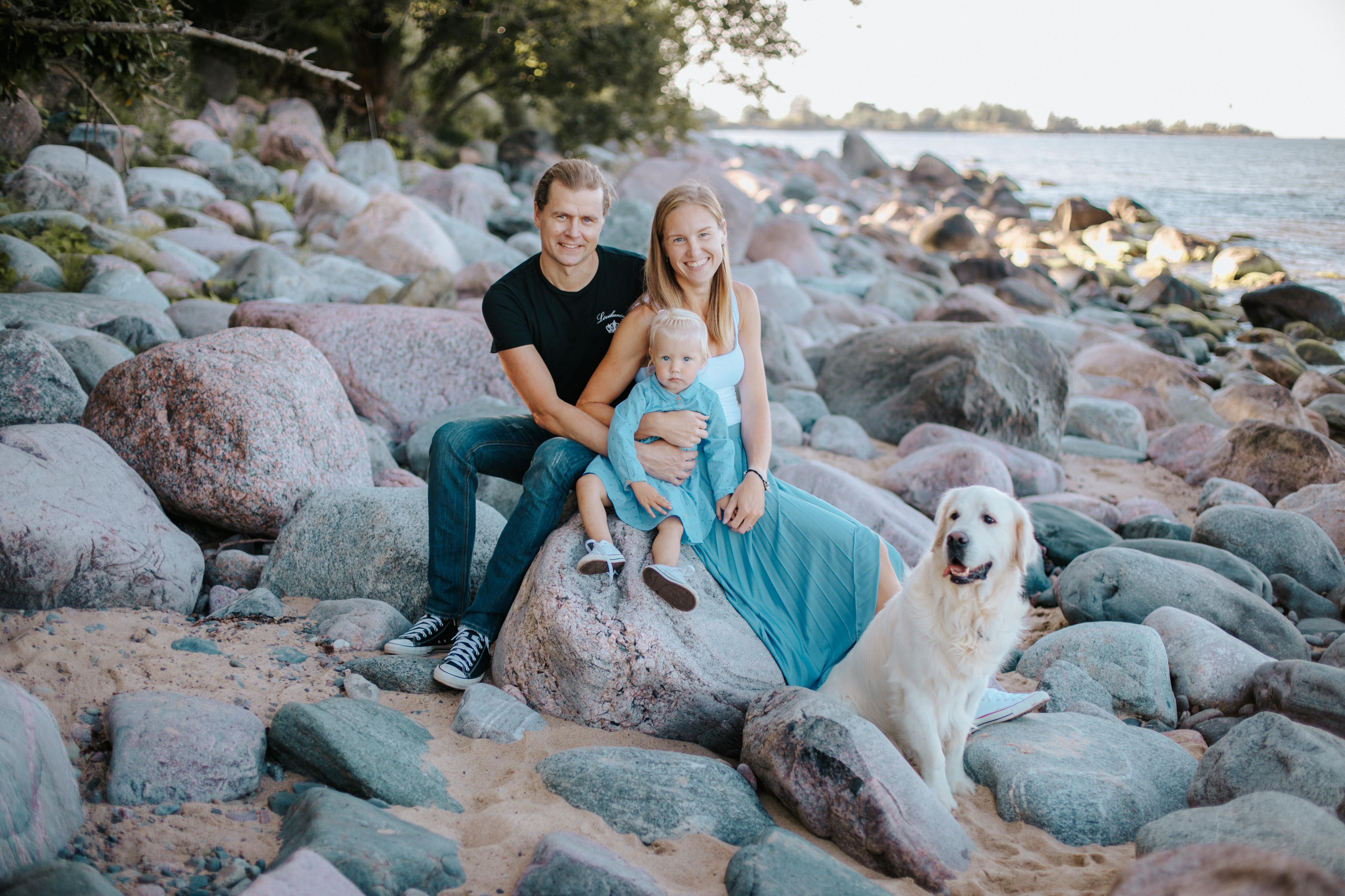 Puhkus koos perega on Kristale oluline. Foto: Anete Toming