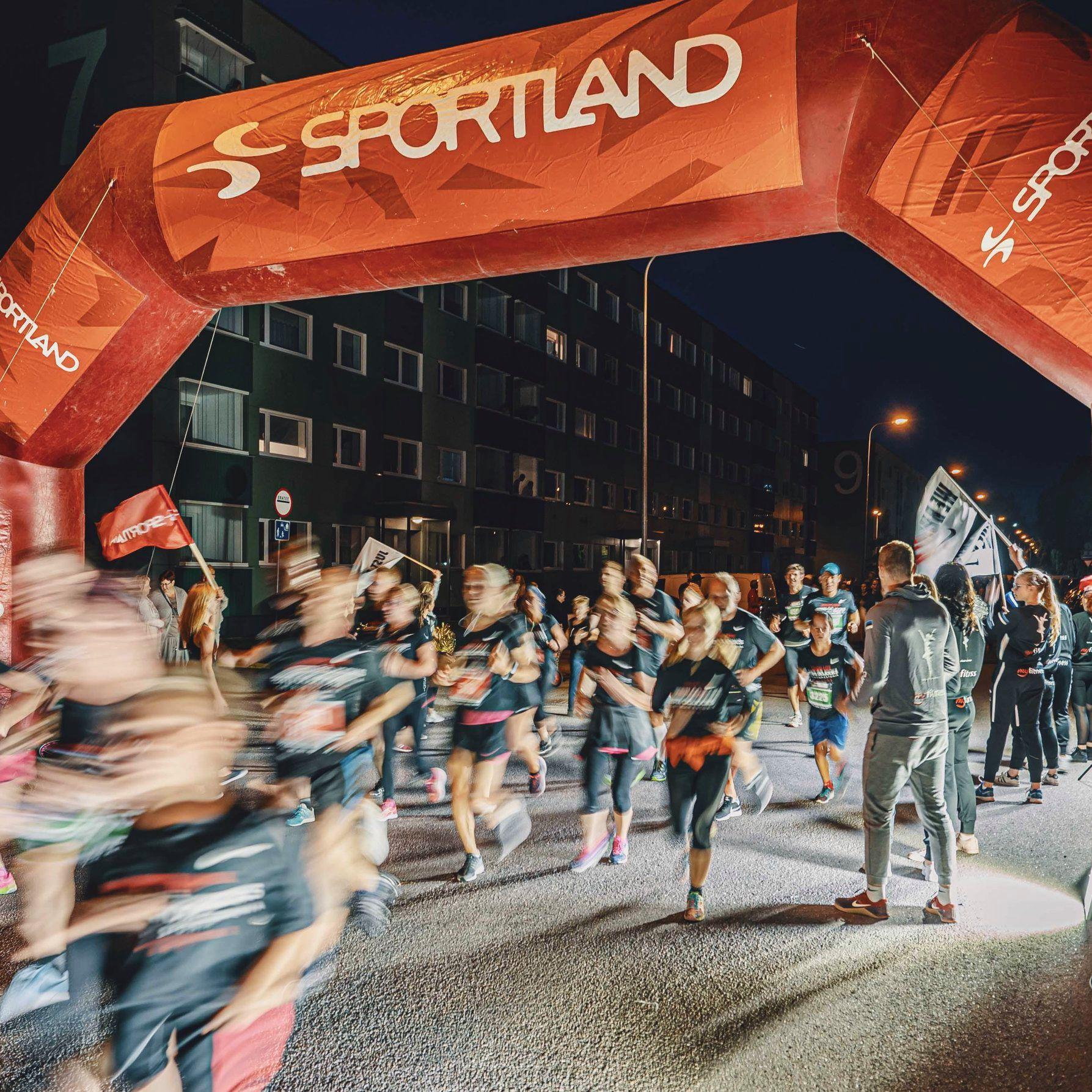 Suurte jooksuürituste lühikesed distanstid on alustajatele sobivad