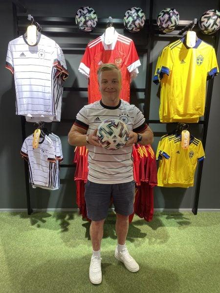 Sportland Football juhataja Sören Rothberg