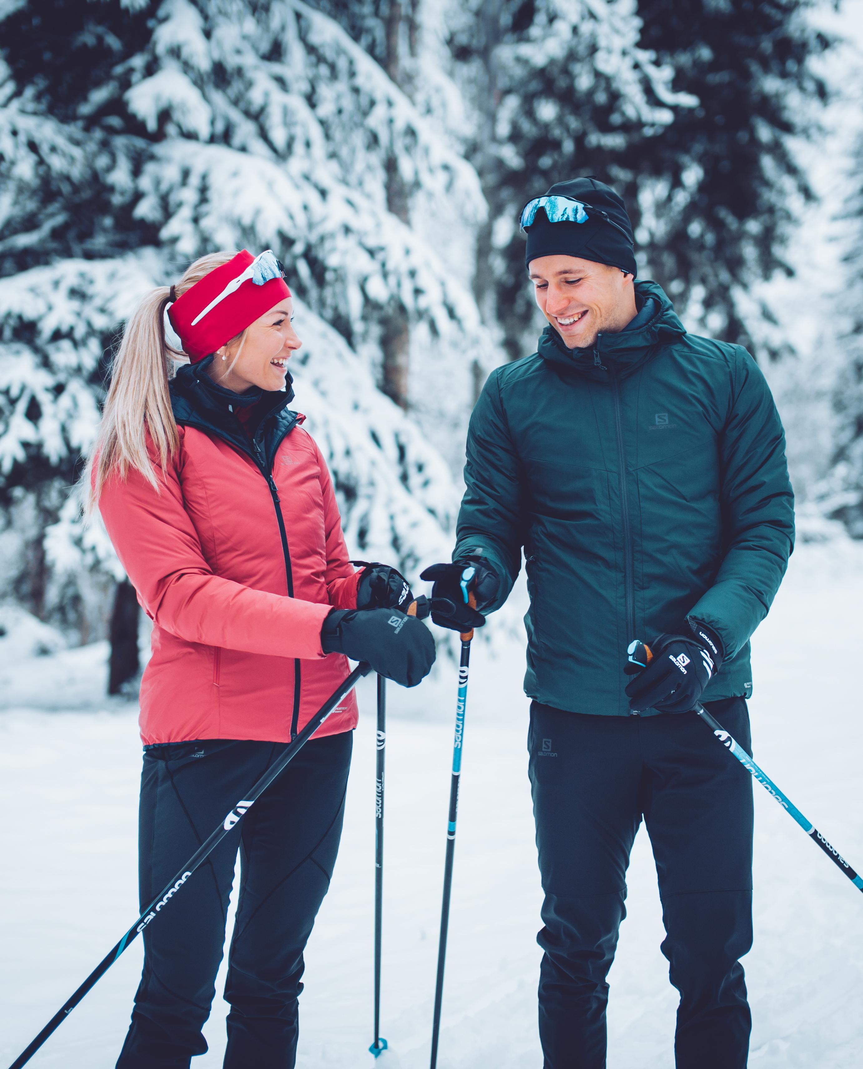 Regina Oja ja Kalev Ermits Foto Sportland
